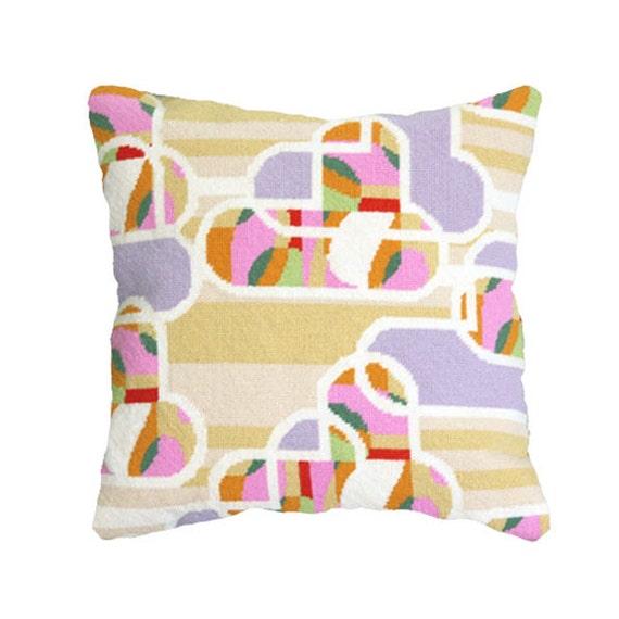 Modern Needlepoint Kits For Pillows : Needlepoint kit Kumo modern stitch kit