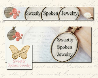 Custom Double Banner Package OOAK - (Etsy and Facebook Banner) cover banner