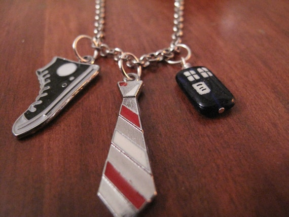 SALE: Tenth Doctor Who inspired charm necklace