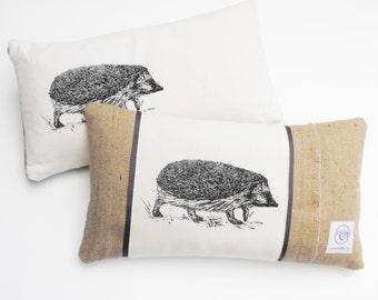 Rectangle Hedgehog  Cushion