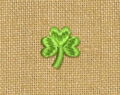 Mini Shamrock St Patrick's Day Decor  Embroidery Design Four Sizes M14