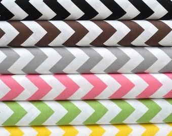 Chevron Baby Blanket - Choose your color