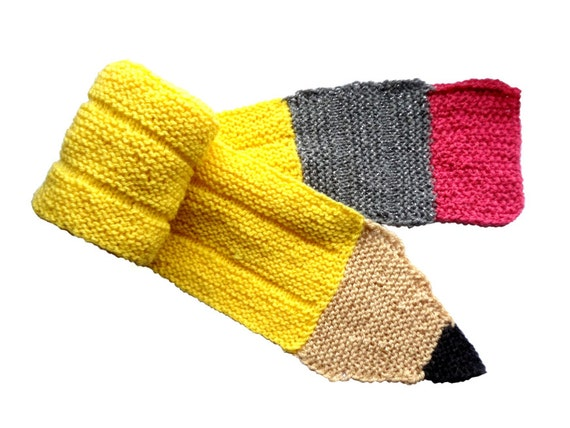 Knitting Pattern For Pencil Scarf : Unavailable Listing on Etsy