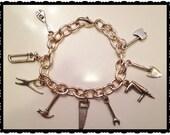 Tools Charm Bracelet