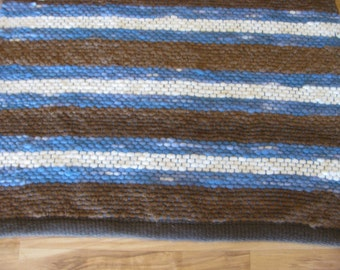 hand woven alpaca rug