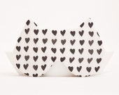 Cat Sleep Mask, Hearts, Valentine's Day gift
