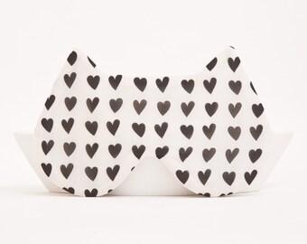 Heart Sleep Mask Etsy
