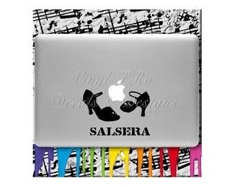 Salsera Decal Macbook Salsa Latin Dance Rumba Dance Floor Bailando Latina Ballroom Social