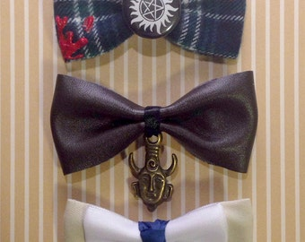 Supernatural hair bows