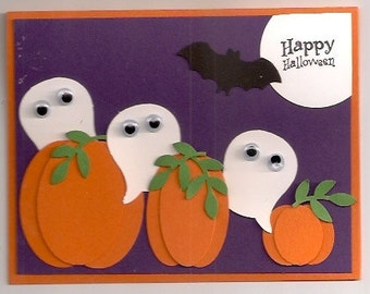 Stampin UP Garden Full of Ghosts Card Kit