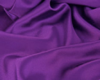 "Purple Satin Fabric - Satin - 1 yard - 60"" wide satin fabric"