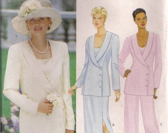 Butterick Sewing Pattern 5930 - Misses' jacket, Top, Skirt, Pants (20-24)