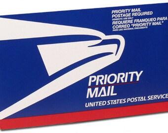 Priority Mail Flat Rate Envelope upgrade orders