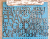 Metal Wall Hanging Don't worry about anything, instead pray Philippians 4:6
