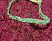 Glow-in-the-Dark braided bracelets