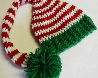Christmas Elf Stocking Cap - Made To Order