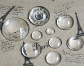 Round Glass Cabochons- 8mm/ 10mm/ 12mm/ 14mm/ 16mm/ 18mm/ 20mm/ 25mm/ 30mm/ 35mm as your choice
