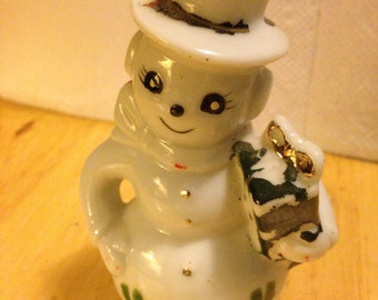 Snowlady Salt Shaker