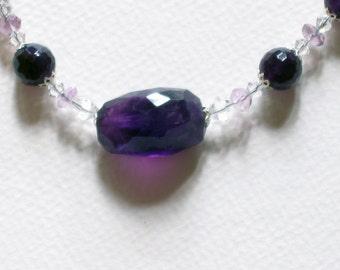Amethyst-Crystal-Choker-Necklace
