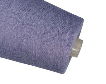 Linen yarn High quality natural linen  thread flax 1ply 2ply  3ply yarn lavender  yarn