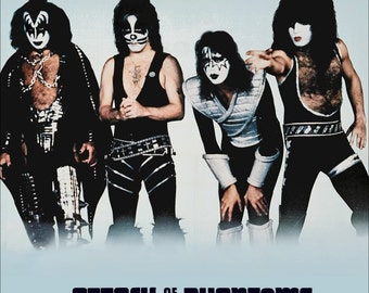KISS - Attack Of The Phantoms Stand-Up Display