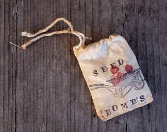 Custom Made Wildflower Seed Bombs Wedding Favors Custom Event Hand Stamped 50 bags