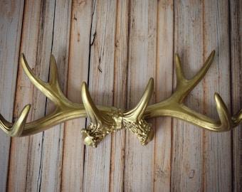 Deer-home decor-rack-buck rack-faux-deer rack-antlers-jewelry holder-hunting-decor-deer lover