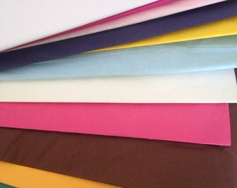 50 sheets of tissue paper tissue paper poms // diy // wedding decoration // baby shower // party decor