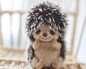 RESERVE ORDER for byronmom.  Niki - little hedgehog - OOAK 12 cm by Katya  Bespalova.