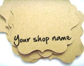 Personalized Earrings Cards, Custom Tags, Kraft Cardstock, Tags, Gift Tags, Earring Cards, Jewelry Cards