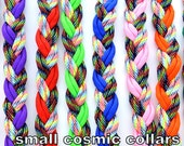 Adjustable Paracord Dog Collars Cosmic Color Series