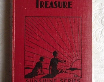 Vintage Childrens Book - Timothy Dedham's Treasure, Fanny Hurrell, Sunshine Series, Boys and Girls, Pickering & Inglis, Undated