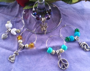 Wine Charm,  Be Charmed set, five pieces