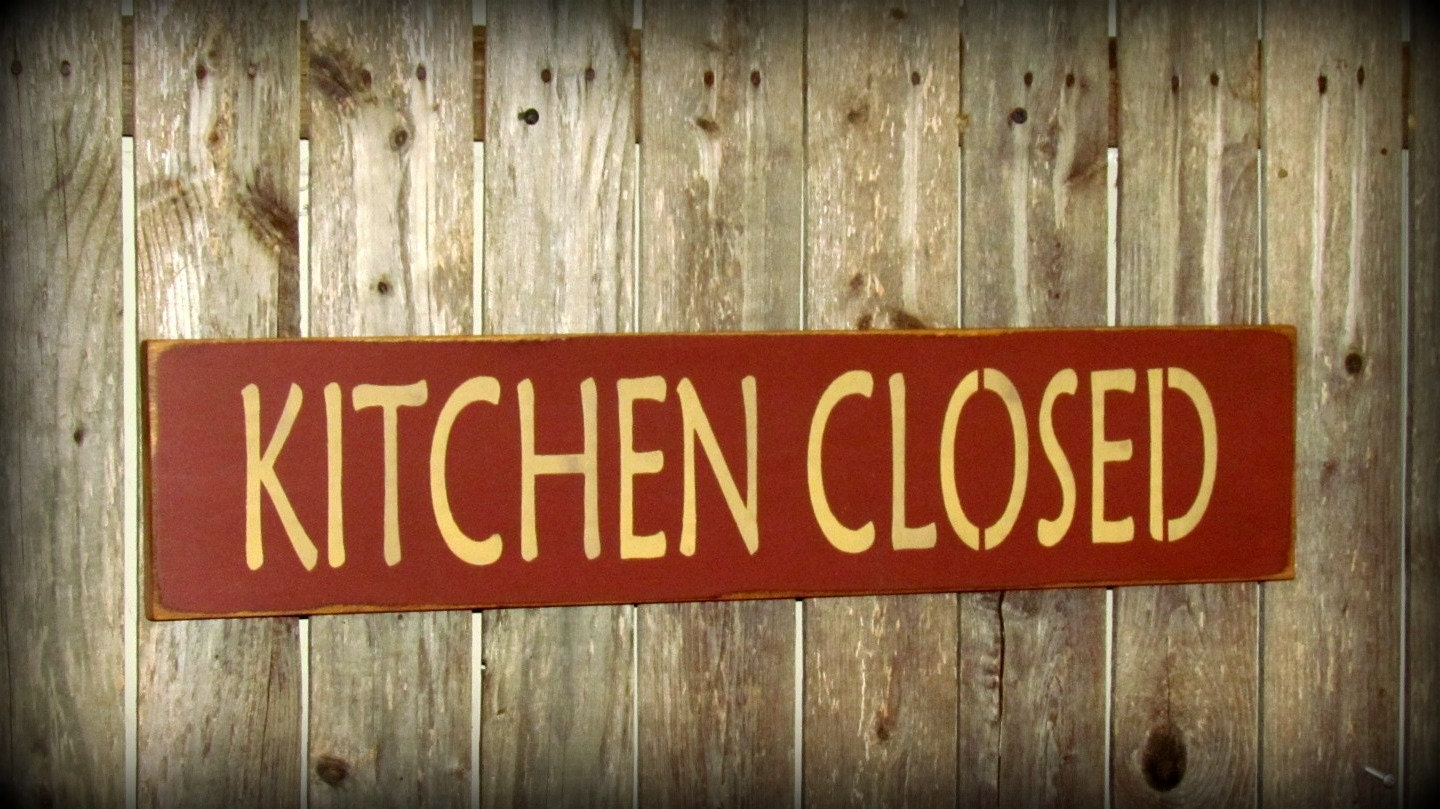 Wooden Kitchen Sign Mothers Day Gift Funny Wood Sign By Woodticks