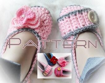 Sweet Dream Crochet Slippers Pattern