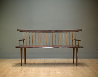 Wooden Bench Furniture Midcentury Modern Home Dcor Danish