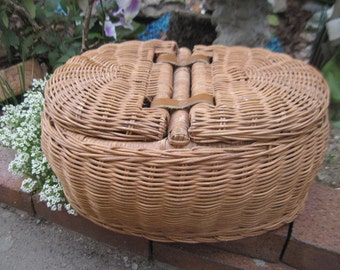 Double Sided Basket with double lids /Great Gift Idea/ NOT INCLUDED In Sale :)S