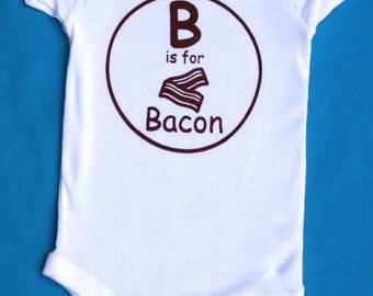 Bacon Lovers Foodie Baby Gifts