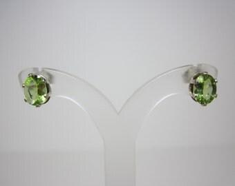 Manchurian Peridot Earrings