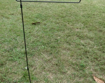 "45"" Metal Garden Flag Stand - Pole"
