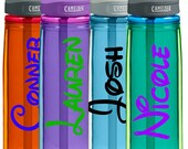 DIY DISNEY Personalized Water Bottle Decal