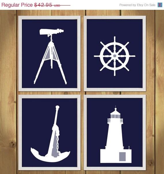 Baby Nash S Vintage Nautical Nursery: ON SALE Nautical Nursery Art Print By MadeForYouPrints On Etsy
