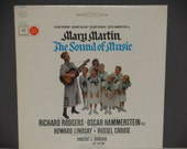 "The Sound of Music - Original Broadway Cast - ""Edelweiss"" - Rodgers and Hammerstein - Columbia Masterworks 1959 - Vintage VInyl LP Record"