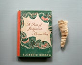 Vintage Christmas Book, A Pint of Judgement, Elizabeth Morrow, 1939, Stocking Stuffer