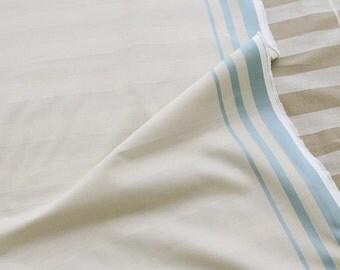 Yarn Dyed Stripe Cotton Fabric - By the Yard 54554