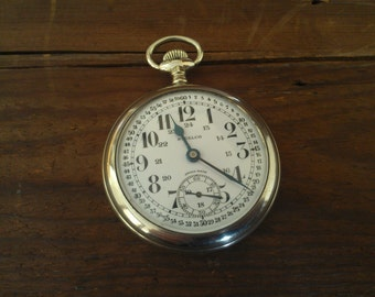 early 1900's  15 Jewel Swiss Steelco pocket watch
