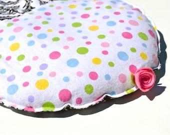 Microwavable Flax seed Heating pad, polka dot, damask, aromatherapy, Cupcake heat pack