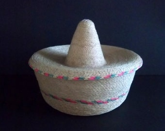 Mexican Hat Basket