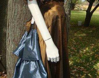 Taffeta Steampunk Skirt