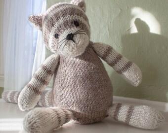 Knit Cat - Children's toy